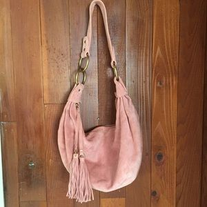 Banana Republic Suede Hobo Bag
